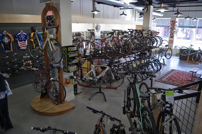 Magasin de cycles pour acheter un vélo de route