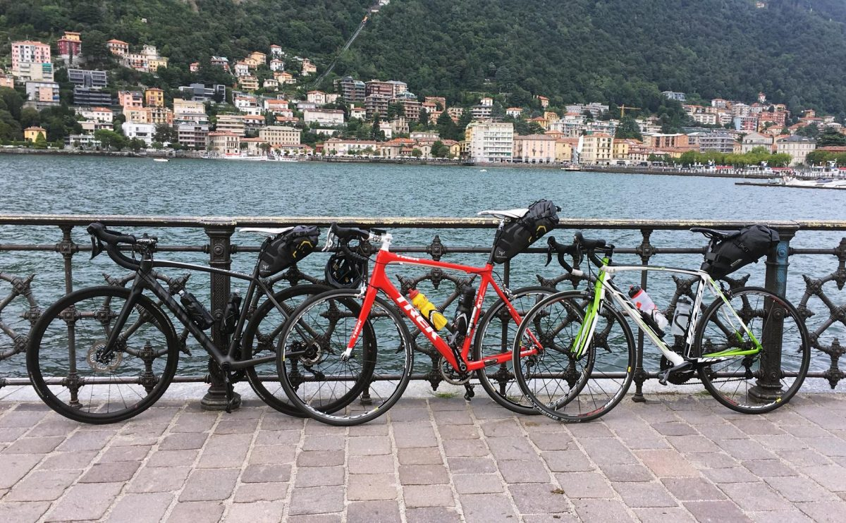 Bikepacking Lac Côme