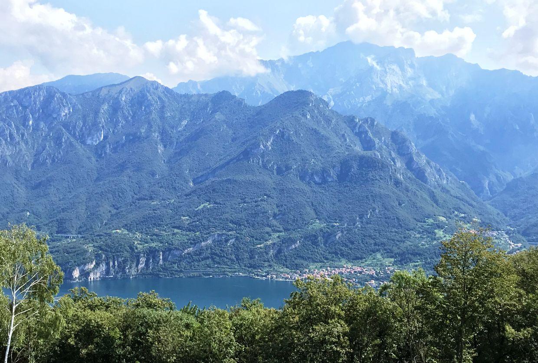 Lac de Côme depuis Madonna del Ghisallo