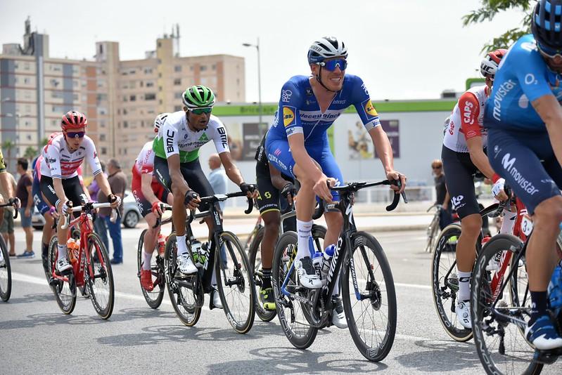 Vélos d'une équipe professionnelle