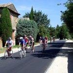 Sortie vélo en groupe